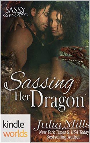 Sassing her Dragon